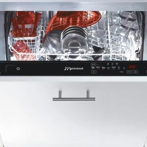 Zmywarka ZBI-12387 WSIT, poj. 13 kompletów naczyń, Water Saver (system redukujący zużycie wody – do 5,8 l na cykl), sterowanie dotykowe, wyświetlacz LED, 8 programów mycia (m.in. OptiA 60 min), klasa energetyczna A  . Cena: od ok. 1.699 zł, Mastercook.