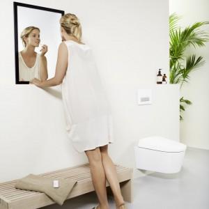 Toaleta myjąca AQUACLEAN SELA (Geberit Sp. z o.o.) – wyróżnienie Dobry Design 2014