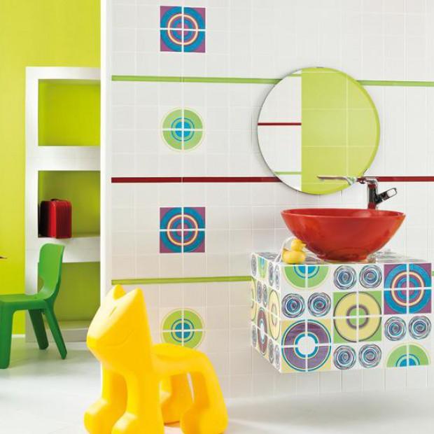 Łazienka dla dziecka. Bezpieczna i kolorowa