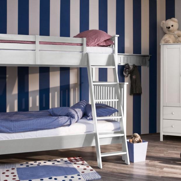 Piętrowe łóżko najlepsze do wspólnego pokoju rodzeństwa