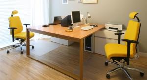 Domowe biuro – wbrew skojarzeniom - wcale nie musi być ciasne i nieprofesjonalnie urządzone. Nawet w domu gabinet może wyglądać jak z nowoczesnego biurowca.