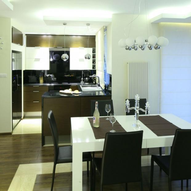 Mała kuchnia: funkcjonalna i elegancka