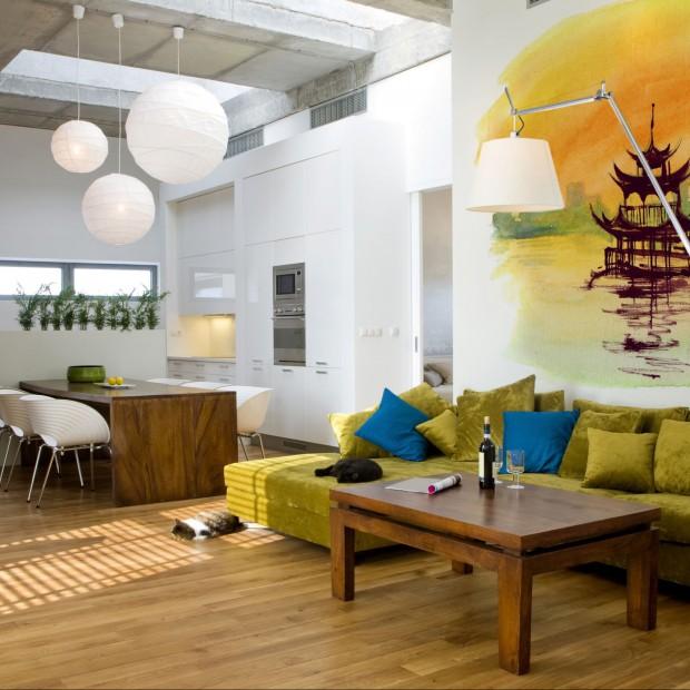 15 najlepszych pomysłów na ścianę w salonie
