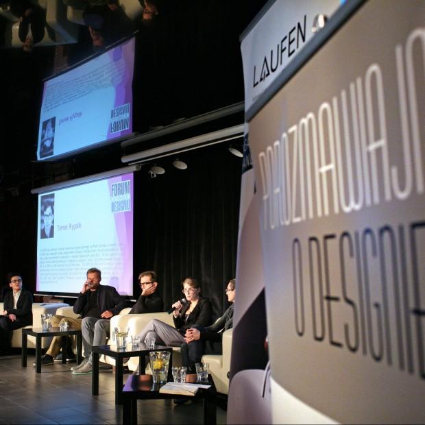 """Panel dyskusyjny """"Czym jest dobry design?"""" Retransmisja z Forum Dobrego Designu 2013"""