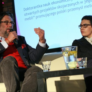 Piotr Voelkel i Anna Rumocka.