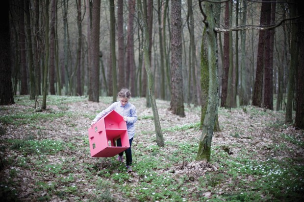Tekturowe zabawki made in Poland