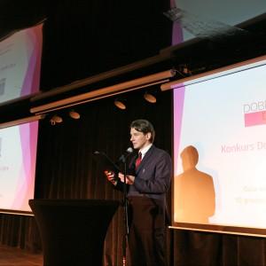 Galę wręczenia nagród poprowadził Marcin Kwaśny, aktor teatralny, filmowy oraz telewizyjny.