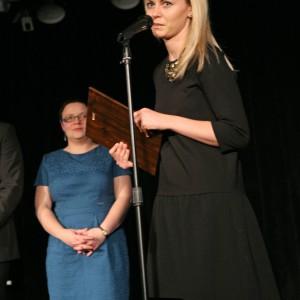 W podkategorii Kolekcje Mebli Jadalnianych nagroda przypadła kolekcji Alcamo marki Szynaka Mable. A odebrała ją Agnieszka Urbańska, projektantka.