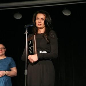 Wyróżnienie Dobry Design 2014 w podkategorii Baterie przypadło baterii umywalkowej Icon (Teka Polska). Nagrodę odebrała Iwona Kryczka, przedstawicielka firmy Teka Polska.