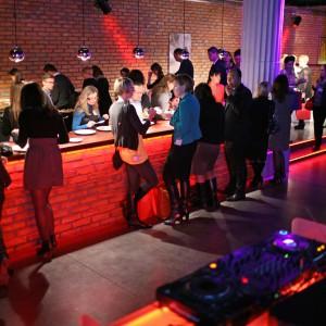 Goście zgromadzeni w czasie gali rozdania nagród Dobry Design 2014.