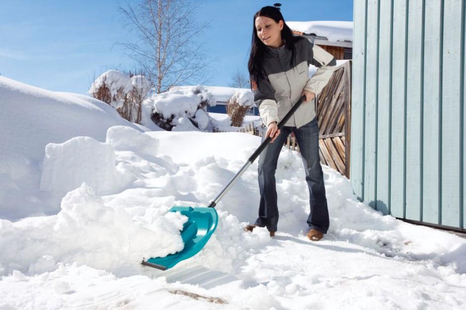 Łopata do śniegu. Fot. Gardena.