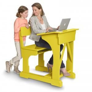 Stół, ławka i siedzisko w jednym Not For School, Dutch Deluxes.