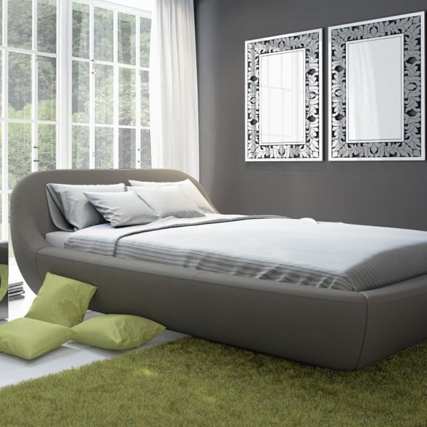 Sypialnia dla miłośników szarości