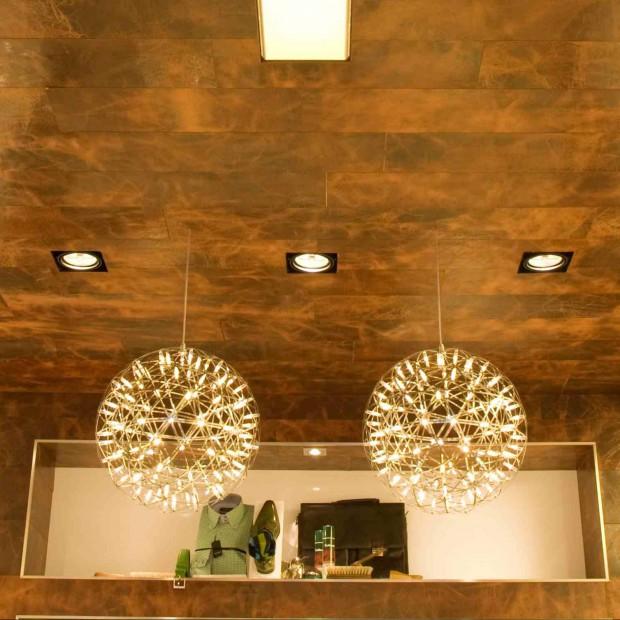 Skórzana okładzina na ściany i podłogi