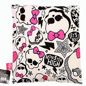 Coś dla starszych dziewczynek - poduszka MonsterHigh Fot. Barline.