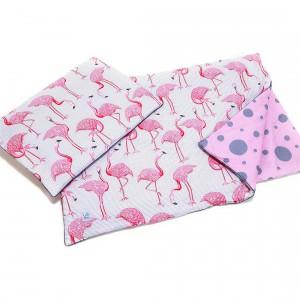 Różowe flamingi zabiorą dziecko w krainę snu. Fot. Kids Town.