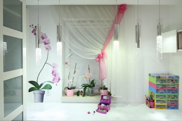 Pomysł na wystrój małego pokoju dla dziewczynki