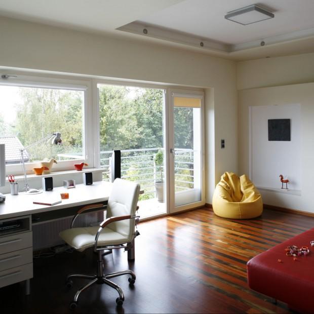 Biuro - przestrzeń do pracy i przyjmowania gości