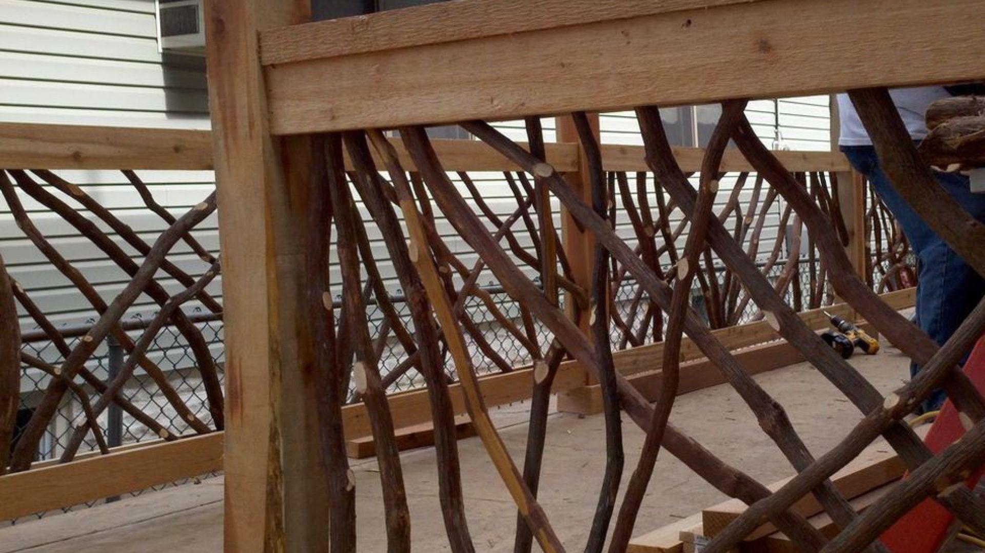 Drewniane Balustrady Balkonowe I Tarasowe Dobrzemieszkajpl