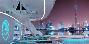 Geometria podcienia-Global Yacht.