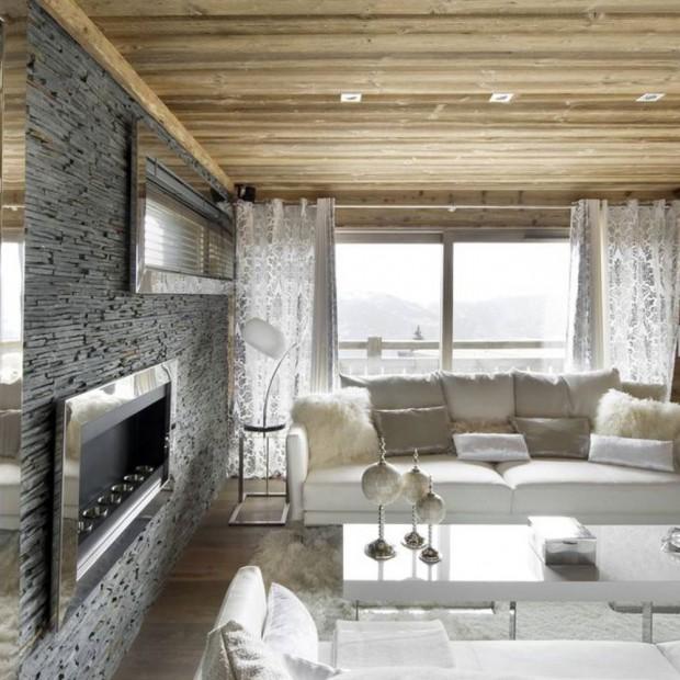 W sam raz na zimę - stylowa górska chata