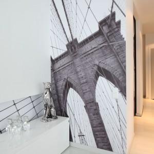Za zdjęciem architektury mostu kryje się pojemna garderoba. Fot. Bartosz Jarosz.
