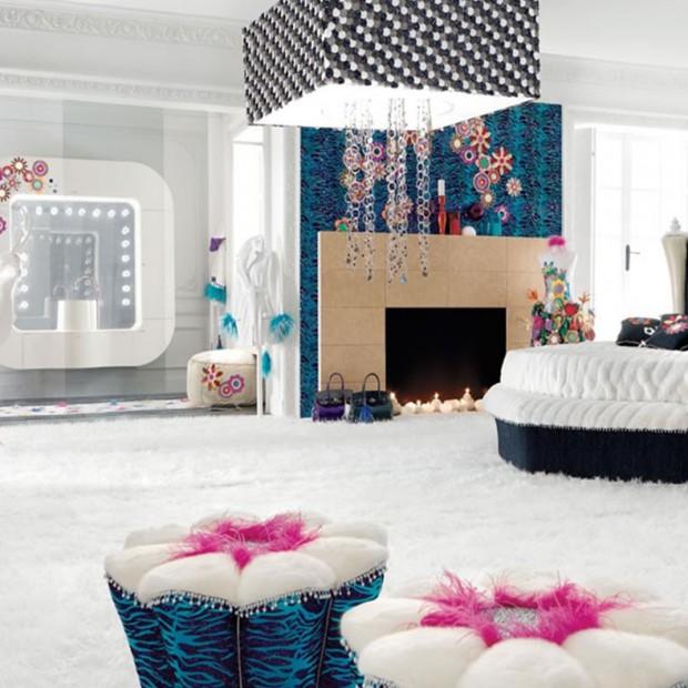 10 łazienek w stylu glamour