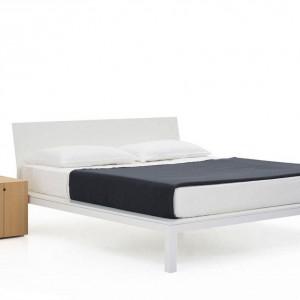 Łóżko dostępne w wielu wymiarach. Proj. Piero Lissoni, Fot. Porro / Atak design.