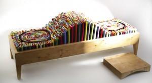 Jak mówi sama projektantka, Małgorzata Pękala, ławka Kamasutra ma służyć integracji oraz spędzaniu czasu w miłym towarzystwie. Wykonana z materiałów recyklingowych, odnawialnych i odpadowych – jest fantastycznym pr