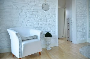 Aranżacja ściany w sypialni.