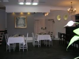 Sala rosyjskiej restauracji