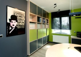 Nowoczesna przestrzeń mieszkalno - biurowa
