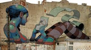Mural - dekoracyjne dzieło malarstwa ściennego. Jest wyrazem jakiejś myśli, może promować akcję charytatywną, społecznościową lub po prostu produkt.