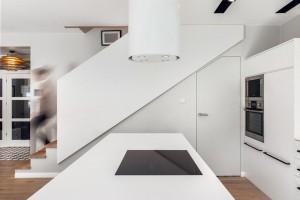 Dom w stylu skandynawskim - kuchnia.