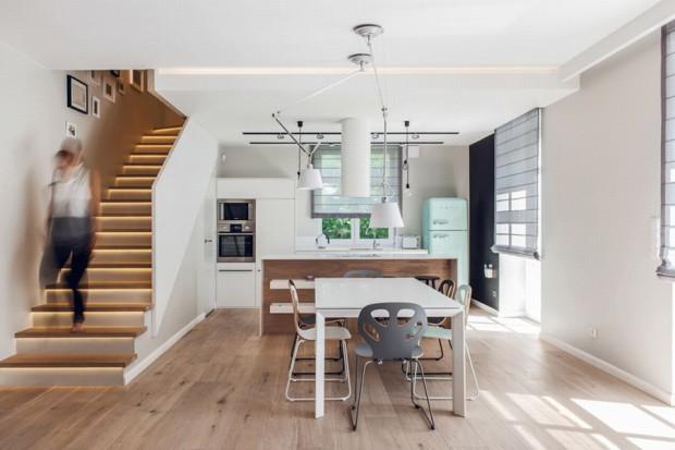 Kuchnia w stylu skandynawskim: projekt wnętrza