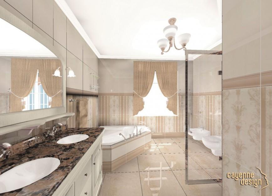 Realizacja Architekta łazienka Na Parterze Grespania