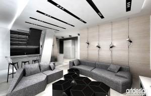 Salon - nowoczesny minimalizm