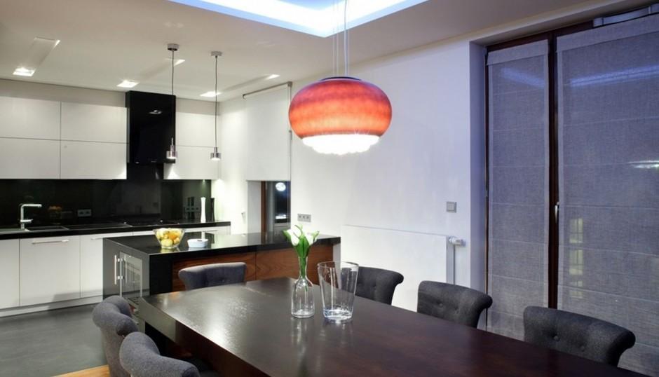 Realizacja Architekta Kuchnia Połączona Z Jadalnią