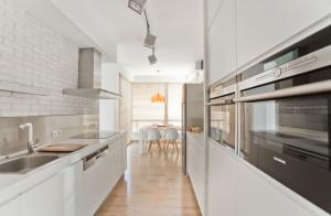 Kuchnia w mieszkaniu 54 m²