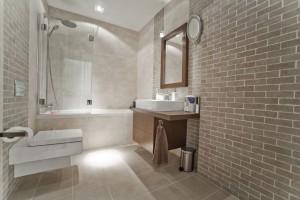 Łazienka w mieszkaniu 54 m²
