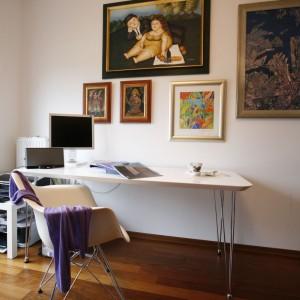 Właściciele lubią dzieła sztuki i wiedzą, jak je eksponować. Fot. Marcin Onufryjuk.