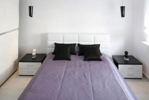Sypialnia - mieszkanie Ustroń