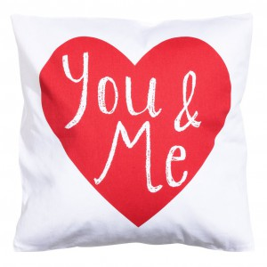 Poszewka na poduszkę z nadrukiem., 40 x 40 cm. Cena 19,99 zł. Fot. H&M Home.