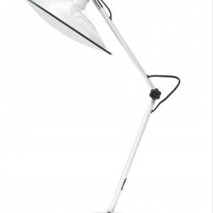 Smukła, biało-czarna lampka MC Fly marki Zuiver. Fot. 9design.