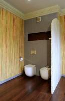 Nowoczesne, nieco surrealistyczne WC.