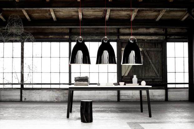 Najpiękniejsze lampy w czarnym kolorze. Do każdej jadalni