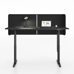 Tyde Single Table to ultranowoczesny mebel marki Vitra. Biurko idealne dla odważnych indywidualistów. fot. Vitra.