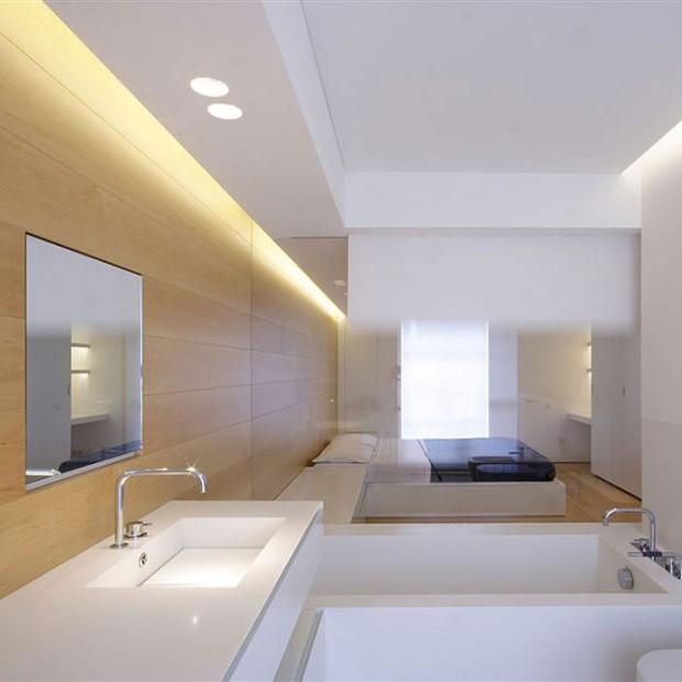Nowe łazienki w starym wnętrzu. Adaptacja poddasza