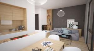 Projekt architektury i wnętrz domów na wodzie zlokalizowanych nad Zalewem Zegrzyńskim k. Warszawy. Atrakcyjna alternatywa dla tradycyjnej zabudowy mieszkaniowej zaprojektowana w minimalistycznej, uniwersalnej formie przy użyciu ekologicznych materiałów oraz wyposażona w urządzenia wykorzystujące energię odnawialną. Wnętrza są proste, funkcjonalne, z dużą ilością schowków. Kolorystyką oraz materiałami nawiązują do stylu skandynawskiego.