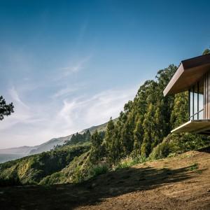Widok na czyste kalifornijskie niebo. Fot. Fougeron Architecture.